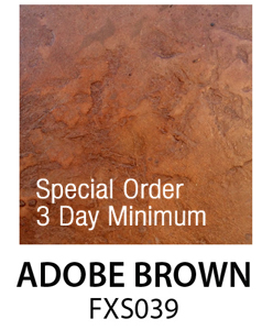 Adobe Brown FXS039