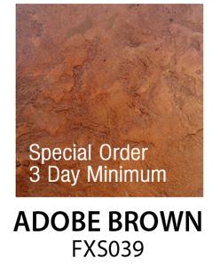 Adobe Brown FXS039